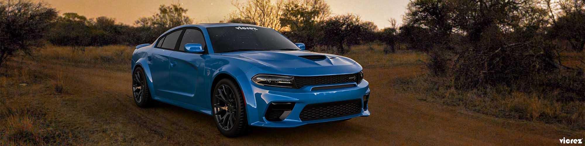 Vicrez V3R Style Rear Diffuser vz102166 | Dodge Charger Widebody 2020-2021