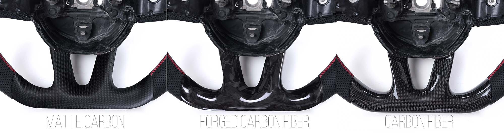 Vicrez Custom OEM Carbon Fiber Steering Wheel vz101784 | Dodge Challenger 2015-2020