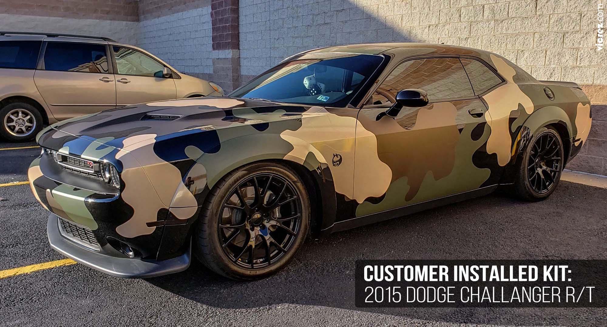 Vicrez Dodge Charger 2015-2019 VZ3 Style Front Bumper Splitter vz100691