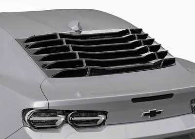 Vicrez LV Style Rear Window Louvers vz102179 | Chevrolet Camaro 2016-2021