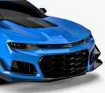 Vicrez Zl1 1LE Style Front Bumper Cover vz101813 | Chevrolet Camaro 2016-2018