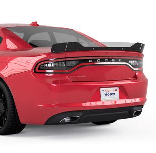 Vicrez V3R Wicker Bill for 3 Piece Spoiler | Dodge Charger 2015-2020