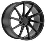 TSW Watkins Matte Black with Gloss Black Face Wheel vzn100671