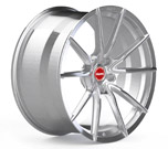 Vicrez VSF Brushed Titanium Wheel