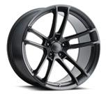 Hellcat Widebody 2 Style Matte Black Wheel vzn100683