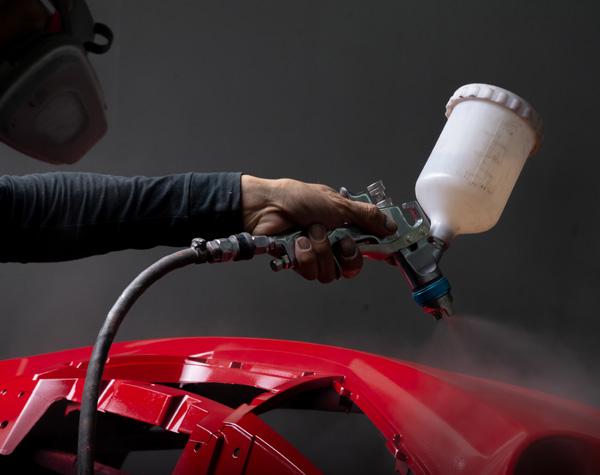 Vicrez vzr101 Auto Body Plastic Adhesive Bumper Repair Step 1 Prep