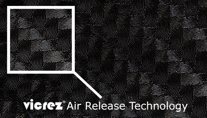 Vicrez Vinyl Air Release Technology