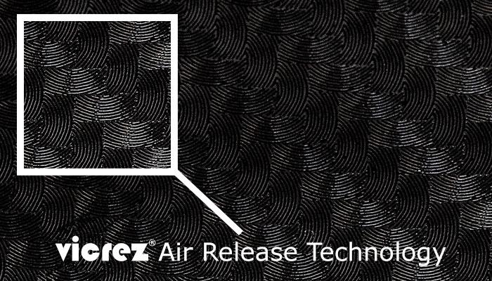 Vicrez Vinyl Air Release Technology