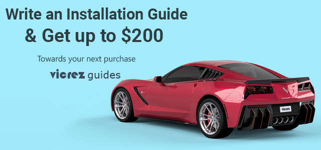 Write an Installation Guide & Get up to $200 at Vicrez.com
